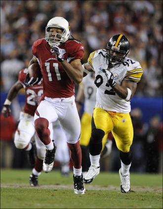 Fitzgerald's 64 yard touchdown catch and run