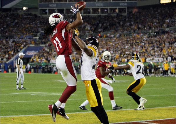 Fitzgerald's jump ball touchdown